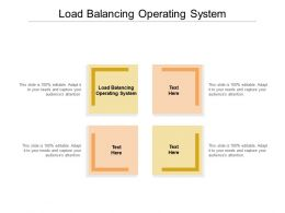 Load Balancing Operating System Ppt Powerpoint Presentation Ideas Templates Cpb