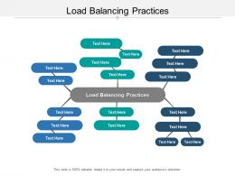 Load Balancing Practices Ppt Powerpoint Presentation Infographic Template Show Cpb