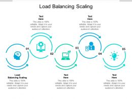 Load Balancing Scaling Ppt Powerpoint Presentation Inspiration Cpb