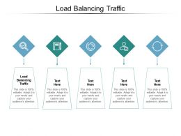 Load Balancing Traffic Ppt Powerpoint Presentation Professional Icons Cpb