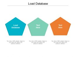 Load Database Ppt Powerpoint Presentation Gallery Layout Ideas Cpb