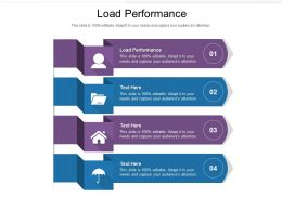 Load Performance Ppt Powerpoint Presentation Summary Icons Cpb