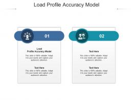 Load Profile Accuracy Model Ppt Powerpoint Presentation Outline Visual Aids Cpb