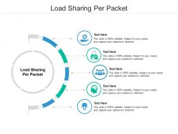 Load Sharing Per Packet Ppt Powerpoint Presentation Show Cpb