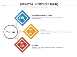 Load Stress Performance Testing Powerpoint Professional Example Introduction Cpb