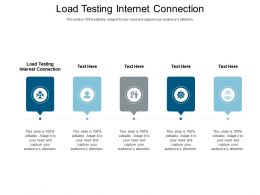 Load Testing Internet Connection Ppt Powerpoint Presentation File Backgrounds Cpb