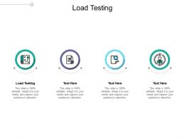 Load Testing Ppt Powerpoint Presentation Icon Graphic Tips Cpb