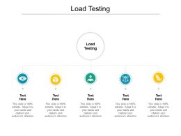 Load Testing Ppt Powerpoint Presentation Pictures Background Image Cpb