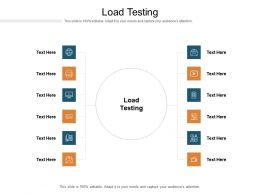 Load Testing Ppt Powerpoint Presentation Visual Aids Model Cpb