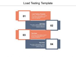 Load Testing Template Ppt Powerpoint Presentation Portfolio Templates Cpb