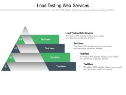 Load Testing Web Services Ppt Powerpoint Presentation Inspiration Designs Download Cpb