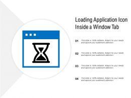 Loading Application Icon Inside A Window Tab