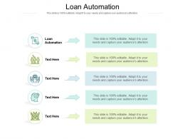 Loan Automation Ppt Powerpoint Presentation Icon Grid Cpb