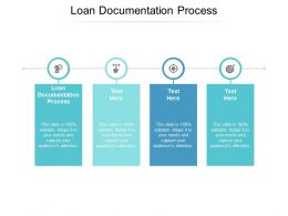 Loan Documentation Process Ppt Powerpoint Presentation Ideas Skills Cpb