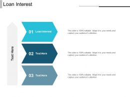 Loan Interest Ppt Powerpoint Presentation Gallery Outfit Cpb