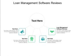 Loan Management Software Reviews Ppt Powerpoint Presentation Ideas Design Inspiration Cpb