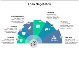 Loan Negotiation Ppt Powerpoint Presentation Icon Outline Cpb