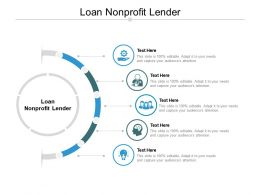Loan Nonprofit Lender Ppt Powerpoint Presentation Slides Layouts Cpb