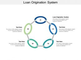 Loan Origination System Ppt Powerpoint Presentation Ideas Inspiration Cpb