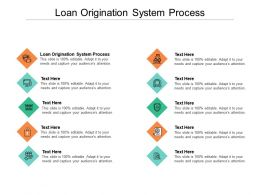 Loan Origination System Process Ppt Powerpoint Presentation Summary Diagrams Cpb