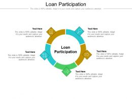 Loan Participation Ppt Powerpoint Presentation Ideas Rules Cpb