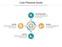 Loan Personal Quote Ppt Powerpoint Presentation Icon Layout Ideas Cpb
