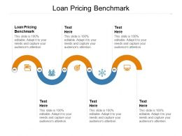 Loan Pricing Benchmark Ppt Powerpoint Presentation Slides Templates Cpb