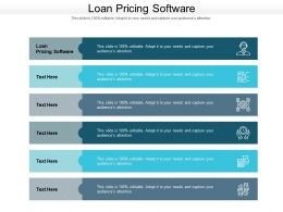 Loan Pricing Software Ppt Powerpoint Presentation Styles Brochure Cpb