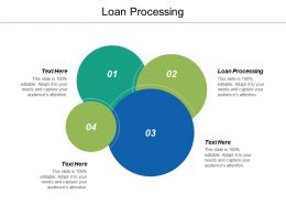 Loan Processing Ppt Powerpoint Presentation Ideas Samples Cpb