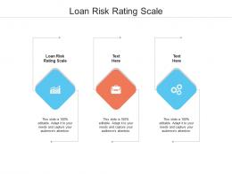Loan Risk Rating Scale Ppt Powerpoint Presentation Portfolio Cpb