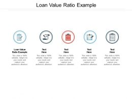 Loan Value Ratio Example Ppt Powerpoint Presentation File Infographics Cpb