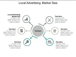 Local Advertising Market Size Ppt Powerpoint Presentation File Slide Portrait Cpb