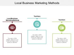 Local Business Marketing Methods Ppt Powerpoint Presentation Professional File Cpb