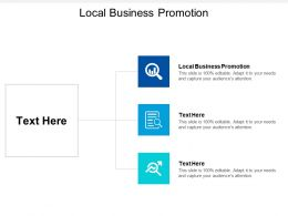Local Business Promotion Ppt Powerpoint Presentation File Formats Cpb