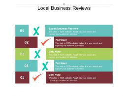 Local Business Reviews Ppt Powerpoint Presentation File Slideshow Cpb