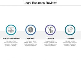 Local Business Reviews Ppt Powerpoint Presentation Guidelines Cpb
