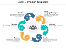 Local Campaign Strategies Ppt Powerpoint Presentation Ideas Clipart Images Cpb