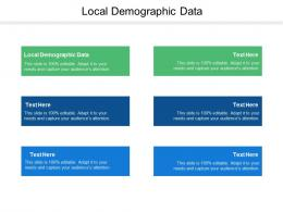 Local Demographic Data Ppt Powerpoint Presentation Pictures Ideas Cpb