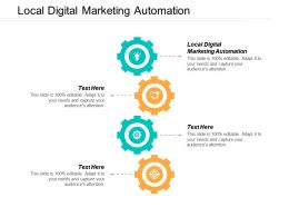 Local Digital Marketing Automation Ppt Powerpoint Presentation Portfolio Display Cpb