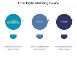 Local Digital Marketing Service Ppt Powerpoint Presentation Visual Aids Diagrams Cpb