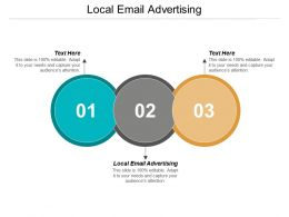 Local Email Advertising Ppt Powerpoint Presentation Layouts Gallery Cpb