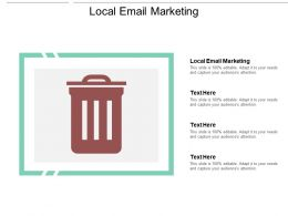 Local Email Marketing Ppt Powerpoint Presentation Gallery Cpb