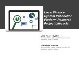Local Finance System Publication Platform Research Project Lifecycle