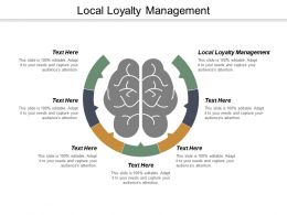 Local Loyalty Management Ppt Powerpoint Presentation Pictures Slides Cpb