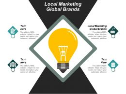 Local Marketing Global Brands Ppt Powerpoint Presentation Infographics Objects Cpb