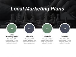 Local Marketing Plans Ppt Powerpoint Presentation File Guide Cpb