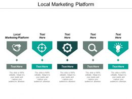 Local Marketing Platform Ppt Powerpoint Presentation Styles Graphic Tips Cpb