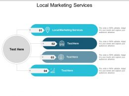 Local Marketing Services Ppt Powerpoint Presentation Model Inspiration Cpb