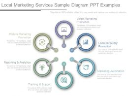 Local Marketing Services Sample Diagram Ppt Examples