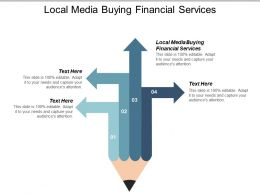 Local Media Buying Financial Services Ppt Powerpoint Presentation Portfolio Cpb